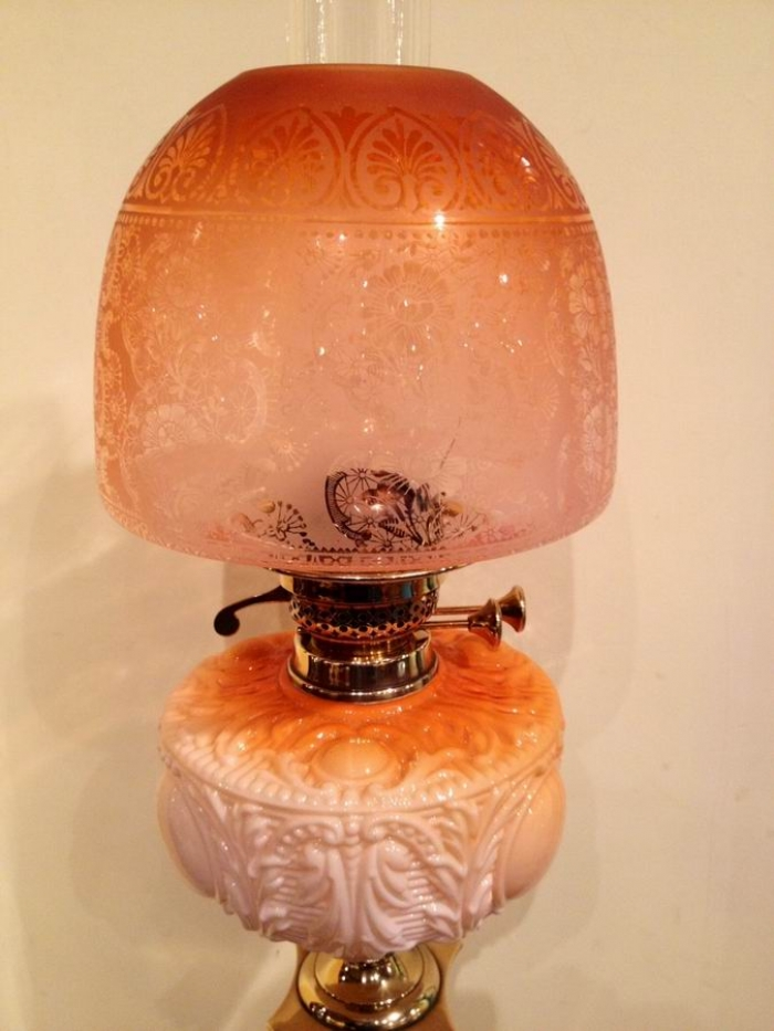 Superb Victorian Oil Lamp