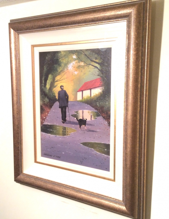Framed Irish Painting By Gregory Moore