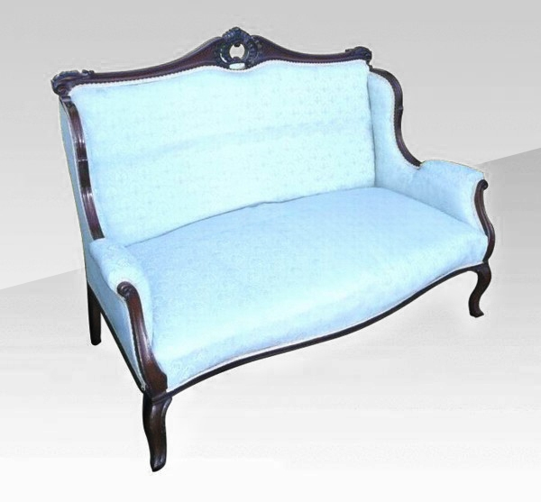 Superb Quality Antique Mahogany Settee