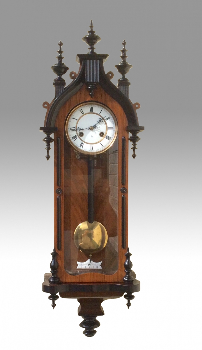 Antique Gothic  vienna wall clock,