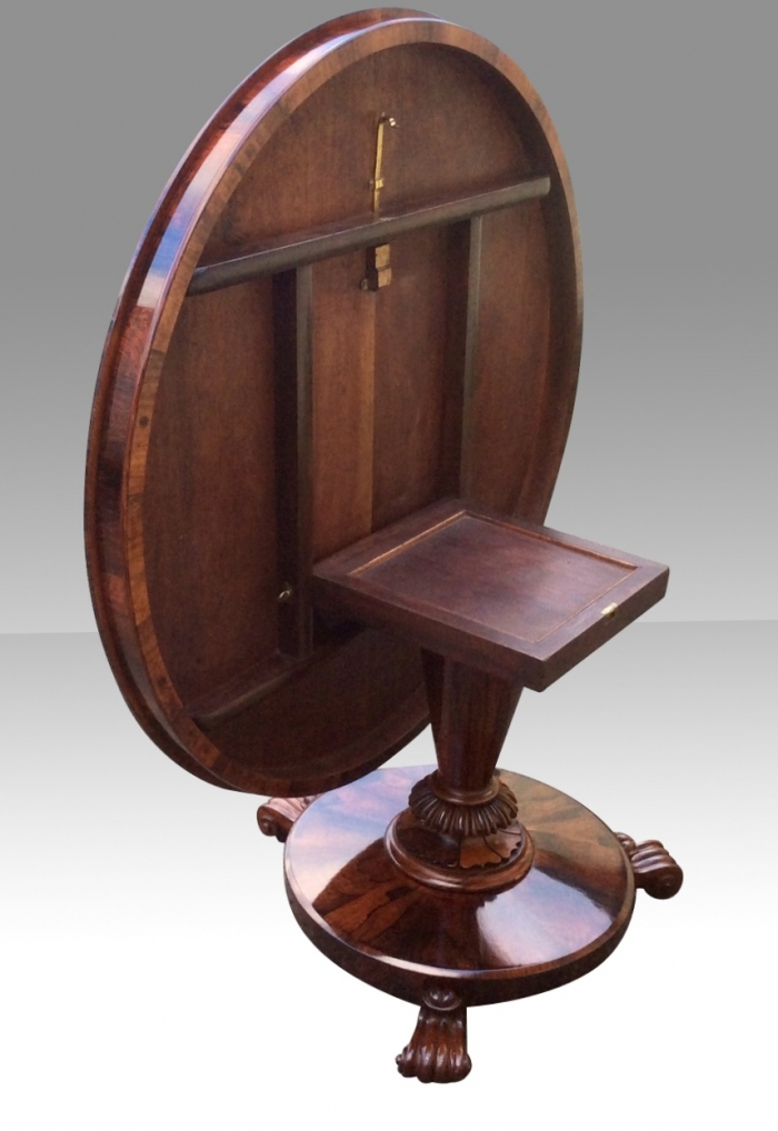 Fabulous William IV Antique Circular Tilt Top Centre,Dining,Hall Table