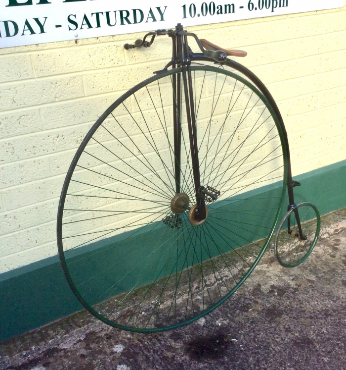 Antique Penny Farthing Bicycle.