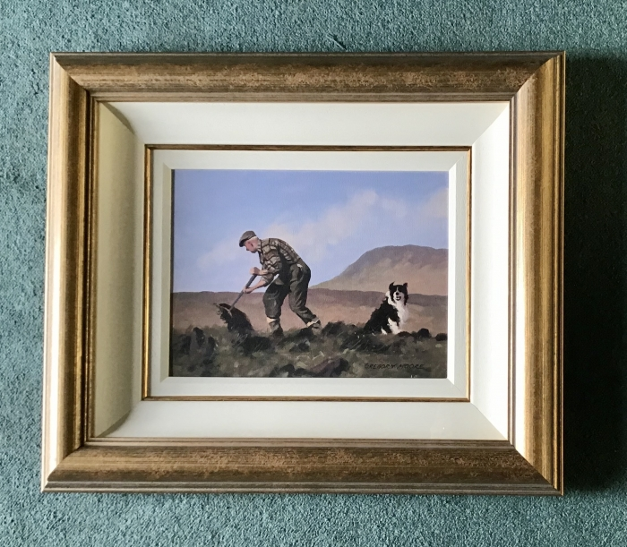 Framed Irish Painting By Gregory Moore,