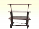 William IV Mahogany 3 Tier Metamorphic Dumb Waiter - Click to Enlarge