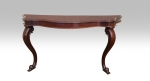 Fabulous 19th Century Mahogany Antique Console Table - Click to Enlarge