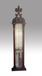 Fabulous Large Antique Admiral Fitzroy Barometer - Click to Enlarge