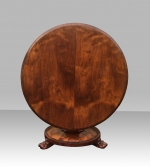 Beautiful William IV Antique Tilt Top Center,Dining Table - Click to Enlarge