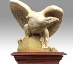 Magnificent Signed large Antique Royal Dux Eagle - Click to Enlarge