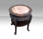 Large Antique Chinese Hardwood Stand - Click to Enlarge