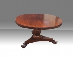 Superb Quality William iv Circular Rosewood Table  - Click to Enlarge