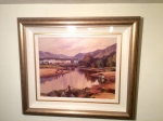 Framed Irish Painting by Donal McNaughton  (Waterfoot,County Antrim)  - Click to Enlarge