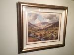 Framed Irish Painting by Donal McNaughton  (The Glens of Antrim,County Antrim)  - Click to Enlarge