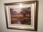 Framed Irish Painting by Donal McNaughton  (The Glens of Antrim) - Click to Enlarge