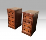 Fabulous Pair Of William IV  Antique Mahogany Bedside Chests,Cabinets. - Click to Enlarge