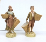 Pair of Royal Dux Figurines - Click to Enlarge