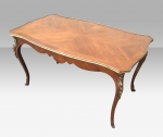 Antique Kingwood Coffee Table with Gilted Brass Mounts. - Click to Enlarge