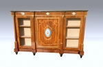 Magnificent Antique Walnut Credenza,Sideboard  - Click to Enlarge