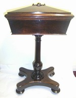 Super William iv Rosewood Tea Poy - Click to Enlarge