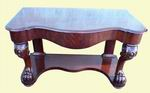 Very Good Victorian Mahogany Side Table - Click to Enlarge