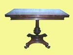 Superb Quality William iv Turn over Leaf Antique Rosewood Tea Table - Click to Enlarge